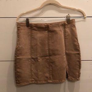 NEW Free People Femme Fatal Skirt